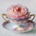 Roses in a Tea Cup by inkedsandra