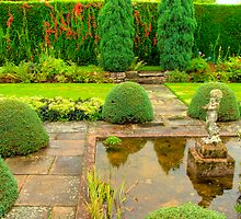 Arley Hall Sunken Garden by Charles Howarth