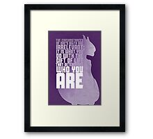 Mewtwo - The First Movie Quote Framed Print