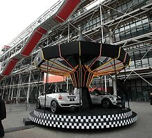 Mini-Go-Round, Pompidou Centre, Paris, France 2012 by muz2142