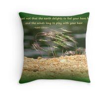 Nature Play Throw Pillow