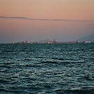 Townsville Harbour @ Dusk by Chris Cohen