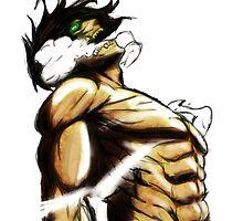 Eren Titan Form by AMAnimeArt