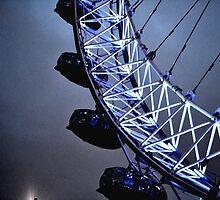 Luminescent London Eye by heyitsnicole