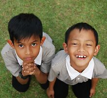 Kid's Expressions Two by Nik Nazneen