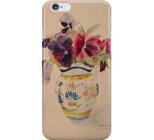 Tablet and phone cases, pansies iPhone Case/Skin