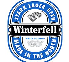 Winterfell Lager - Game of Beers by Hoidy10