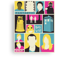 Doctor Who - The Ninth Doctor Canvas Print