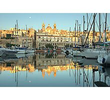Early Morning At The Marina Photographic Print