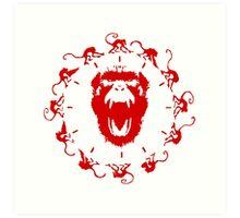 Army of the 12 Monkeys Art Print