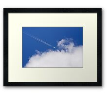 Jet Airplane Framed Print