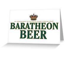 Game of Beers - Baratheon  Greeting Card