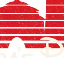 Jabba's Palace (dark version) Sticker