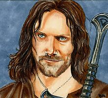 ARAGORN LORD OF THE RINGS by LouLouD123
