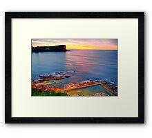 Marvel - Avalon  Beach - Sydney Beaches - The HDR Series Framed Print