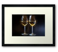 Quiet Companions and Noisy Conversation Framed Print