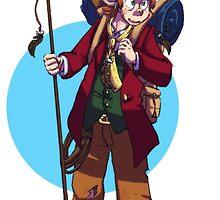 Eagle-raised Bilbo - On an Adventure by pumpk