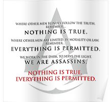 Assassin's Creed Unity and Assassin's Oath Poster