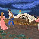 Handcart Pioneers by Celinda