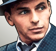 Frank Sinatra - Pack Master of the Rat Pack Sticker