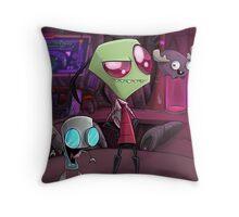 Team Doom  Throw Pillow