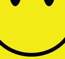Smiley Face T Shirt Sticker