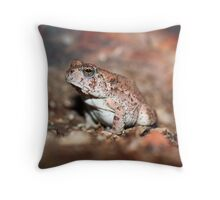 Red-spotted Toad Throw Pillow