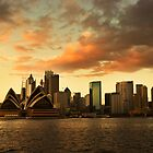 Sydney Sunrise 4 by David Mapletoft