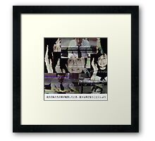 Frank Iero (When Both Our Cars Collide) Framed Print