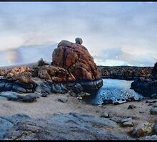 Painted Dreamscape, Arizona Dells by Wayne King