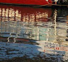 Batemans Bay Reflections. by Sandra Fisher