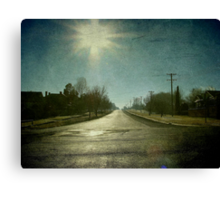 Morning Town, Maitland Street, Uralla, New South Wales Canvas Print