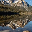 STANLEY LAKE AND MCGOWN PEAK by Charlene Aycock