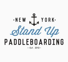New York Stand Up Paddleboarding Clothing by Rachel La Bianca