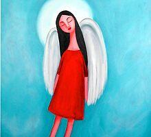 Flying Angel by littlearty