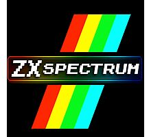 ZX Spectrum Computer Logo Tee | UK  Photographic Print