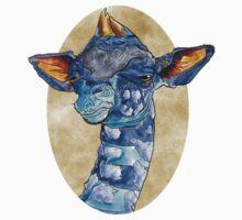 Zen Giraffe - Watercolour Kids Clothes