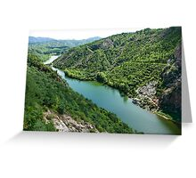 Simatai river Greeting Card