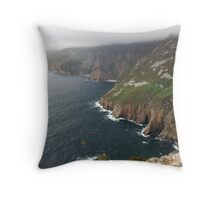 Donegal Cliffs Throw Pillow