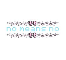 no means no by thaliaward