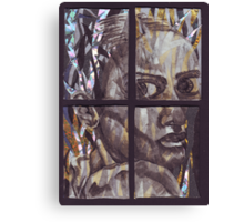 Pained Expression - Tetraptych Canvas Print