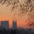 York Minster (Winter sunrise) by Weirdfish695