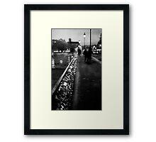 Paris' Love Locks Framed Print