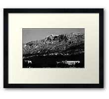 Croatian Mountains Framed Print