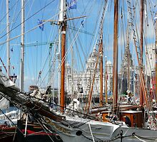 Tall Ships at Liverpool by Kimberley  x ♥ Davitt
