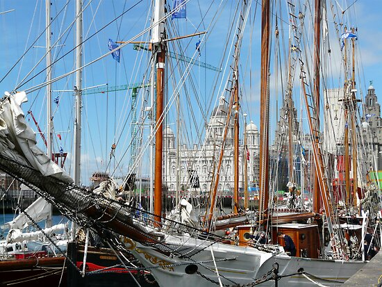 Tall Ships at Liverpool by Kimberley  x ♥ Davitt