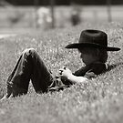 Even Cowboys Need Their Nap by Yuann Wang