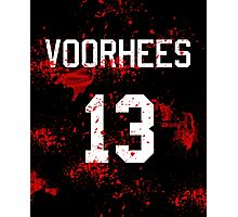 Jason Voorhees Jersey Photographic Print