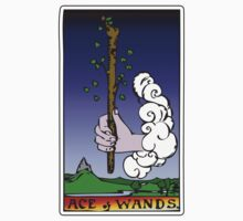 ace of wands by waxmonger