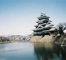 Matsumoto Castle view 2 by satsumagirl